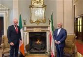 دیدار ظریف و همتای ایرلندی در دوبلین