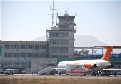 اولین هواپیمای غیرنظامی برای خارج کردن اتباع خارجی در فرودگاه کابل