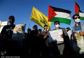 تجمع مردم زاهدان در حمایت از ملت مظلوم فلسطین به روایت تصویر