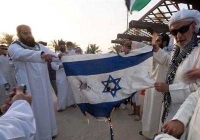 پرچم رژیم صهیونیستی در کویت به آتش کشیده شد/ تظاهراتکنندگان شعار «مرگ بر اسرائیل» سر دادند