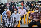 تجمع مردم قزوین در حمایت از ملت مظلوم فلسطین به روایت تصویر
