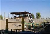 مسابقات سوارکاری استان تهران ویژه هفته دفاع مقدس در پاکدشت برگزار شد