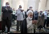 برپایی نخستین نماز جمعه قزوین در سال 1400 به روایت تصویر