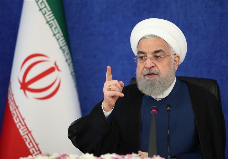 روحانی: الان که واکسن کرونا را ساختیم، آمریکایی ها میگویند فعالیت بانکی برای خرید واکسن آزاد است