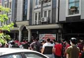 تجمع هواداران پرسپولیس مقابل فدراسیون فوتبال