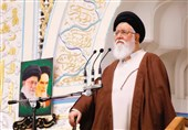 """پیام تبریک امام جمعه مشهد به رئیس جمهور منتخب / ملت ایران """"دشمنان و کینهتوزان"""" را طرد کردند"""