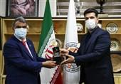 دیدار روسای فدراسیون هندبال ایران و افغانستان