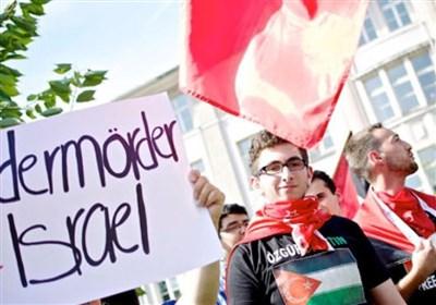 برگزاری اعتراضات ضد اسرائیلی در پایتختهای اروپایی