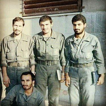 دفاع مقدس , شهدای دفاع مقدس , فرماندهان نظامی ایران , دریابان علی شمخانی , خرمشهر , بیت المقدس ,