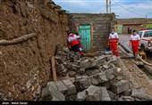 سیل در یکی از روستاهای محور کرج - چالوس خسارت جانی نداشت/آسیب به چند خودرو
