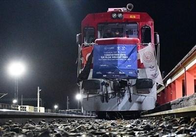 ششمین و هفتمین قطار باری ترکیه در راه چین