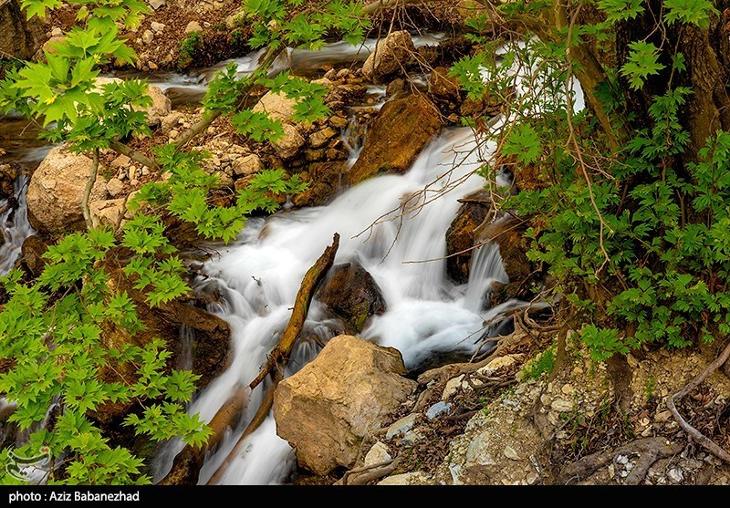 آبشار وارک لرستان