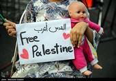 گردهمایی کودکان تهرانی به یاد کودکان مظلوم فلسطین