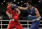بوکس قهرمانی آسیا  شکست رضایی مقابل بوکسور باتجربه قزاقستانی