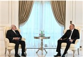 ظریف یلتقی الرئیس الأذربایجانی