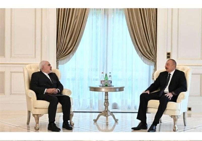 Iran's FM, Azeri President Meet in Baku