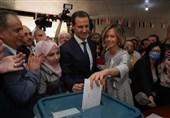 السفارة الإیرانیة فی دمشق تهنیء بفوز الرئیس الأسد بالانتخابات الرئاسیة