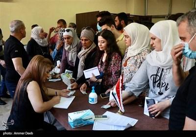 گزارش میدانی تسنیم از انتخابات سوریه