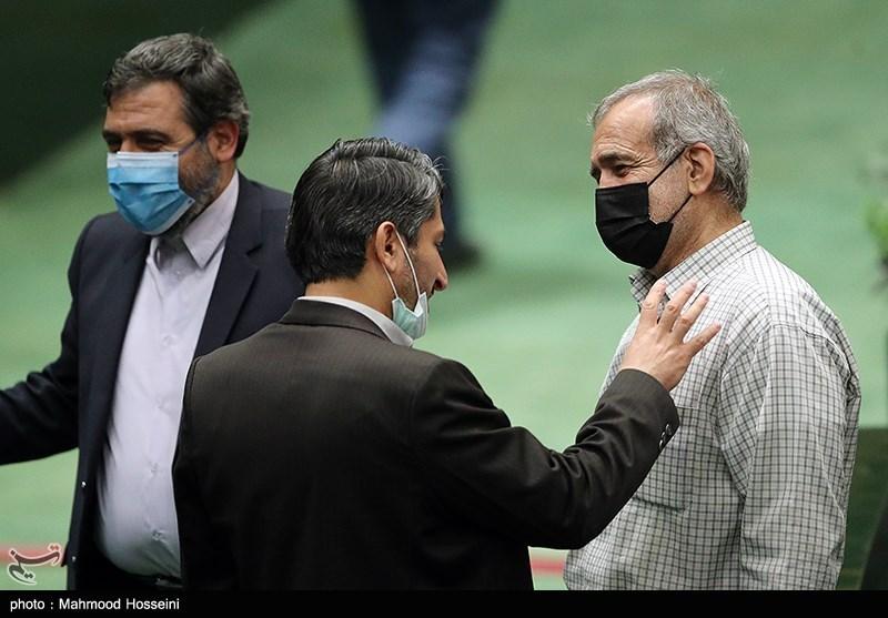 مسعود پزشکیان در صحن علنی مجلس شورای اسلامی