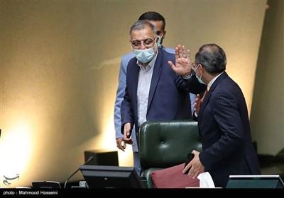 علیرضا زاکانی در صحن علنی مجلس شورای اسلامی