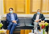 دیدار عزیزی خادم با بذرپاش درباره مشکلات فوتبال/ تشکیل 2 تیم حقوقی در پرونده شستا