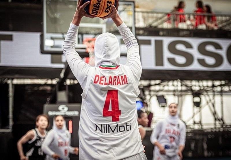 پایان کار تیم بسکتبال 3 نفره بانوان ایران در مسابقات انتخابی المپیک