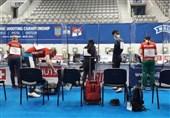 عنوان ششمی و یازدهمی تیمهای میکس تپانچه ایران در مسابقات قهرمانی اروپا