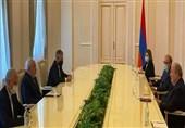 دیدار ظریف با رئیسجمهور ارمنستان