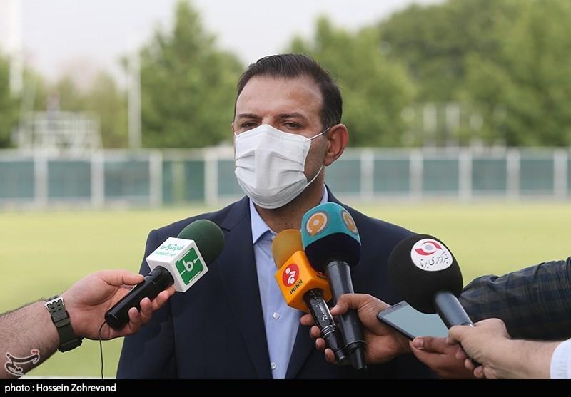 شهابالدین عزیزی خادم فدراسیون فوتبال