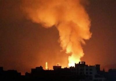 ۸ بار حمله هوایی ائتلاف سعودی به غرب مأرب