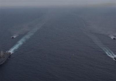 مانور نظامی-دریایی مشترک اوکراین و انگلیس در دریای سیاه