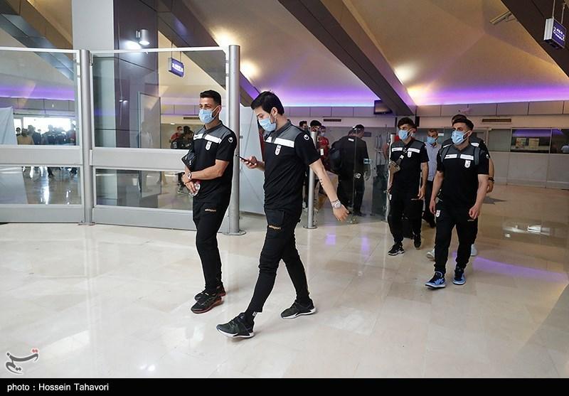 ورود تیم ملی فوتبال به کیش
