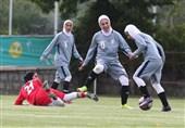 تیم ملی فوتبال بانوان به بلاروس رفت