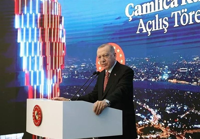 اردوغان: پروژه کانال استانبول از ماه آینده میلادی کلید میخورد