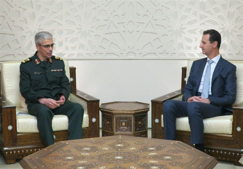 Top General: Iran Ready to Boost Syria's Defense Power