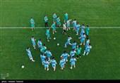 Iran National Football Team's Training Camp Held on Kish Island