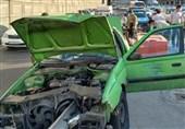 ورود گاردیل به داخل اتاقک پژو در بزرگراه امام علی!/ زنده ماندن معجزهآسای راننده + تصاویر