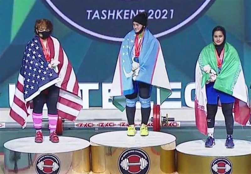 وزنهبرداری جوانان جهان  تکمیل روز خوب و تاریخی وزنهبرداری بانوان ایران با 3 مدال جمالی