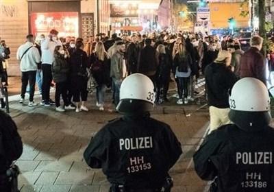 درگیری میان پلیس و ناقضان قواعد کرونایی در بسیاری شهرهای آلمان
