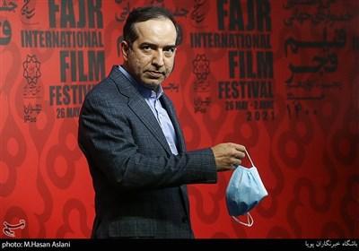 دکتر حسین انتظامی در ششمین روز سیوهشتمین جشنواره جهانی فیلم فجر در پردیس سینمایی چارسو