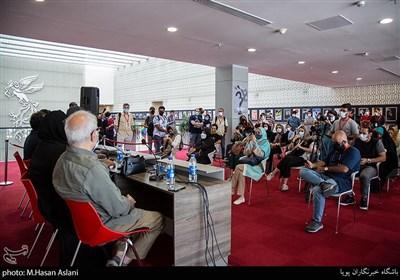 نشست خبری فیلم (میجر) در ششمین روز سیوهشتمین جشنواره جهانی فیلم فجر در پردیس سینمایی چارسو