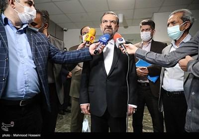 حضور محسن رضایی کاندیدای انتخابات ریاستجمهوری در اتاق بازرگانی