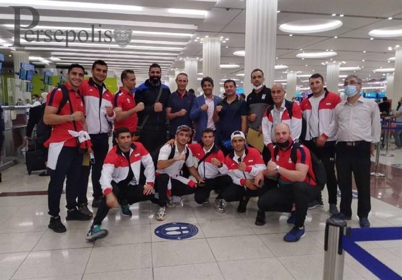 دیدار گلمحمدی با ملیپوشان بوکس
