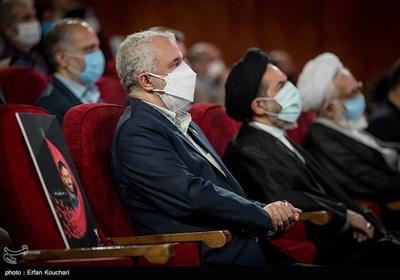 سعید اوحدی رئیس بنیاد شهید و امور ایثارگران در آئین بزرگداشت سید آزادگان