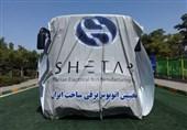 """حرکت سریع به سمت هوشمندسازی شبکه حمل و نقل عمومی / رونمایی از اتوبوس برقی """"شتاب"""" در مشهد مقدس """