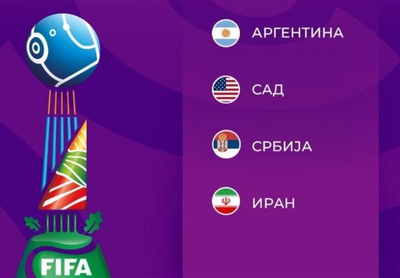 کاپیتان تیم ملی صربستان: ایران و آرژانتین برای قهرمانی جام جهانی فوتسال میجنگند