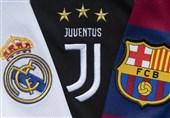 یوفا اعلام کرد؛ حضور بارسلونا، رئال مادرید و یوونتوس در فصل آینده لیگ قهرمانان
