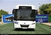 راهاندازی نخستین اتوبوس برقی کشور در مشهد به روایت تصویر