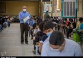 امتحانات سراسری در قم به روایت تصویر