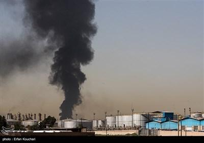 روز دوم آتش سوزی پالایشگاه تهران